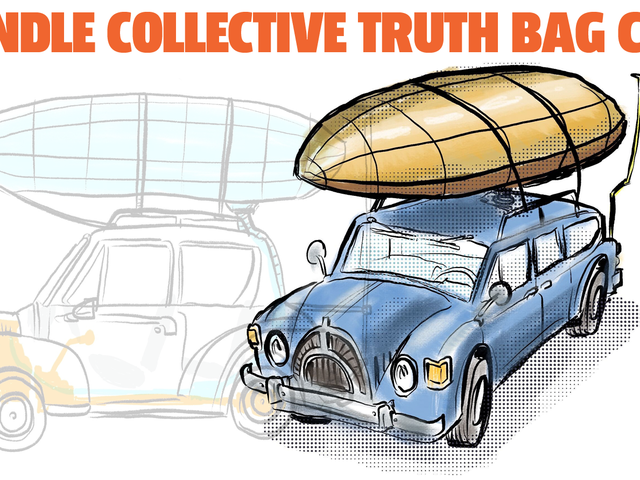 Imaginary Car From An Imaginary Country: The Svindle Collective Truth Bag Cars
