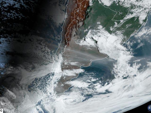 La fumée de feu de brousse australienne fait maintenant le tour du monde