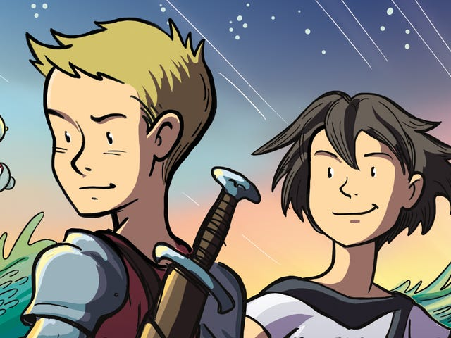 Young heroes unite in thisMighty Jack And Zita The Spacegirlfirst look