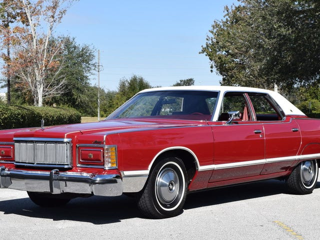 At $21,500, Could This 1977 Mercury Grand Marquis Be A Grand Statement?