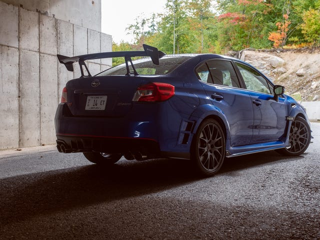 Subaru Gives Super-Exclusive Limited Edition $63,995 STI S209 'Special' Financing