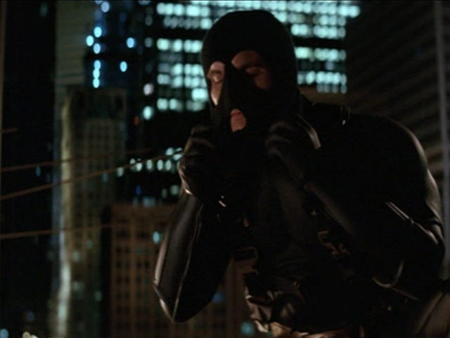 If you are going to be a vigilante, make sure you are a masked one!