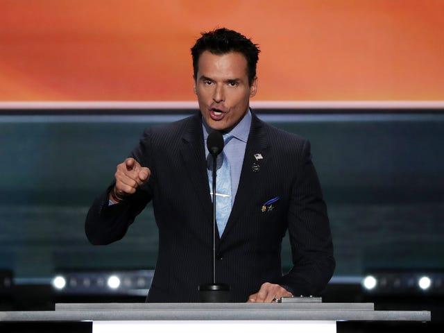 Antonio Sabato Jr. ja Stacey Dash Believe Stumping for Trump saivat ne mustalle listalle Hollywoodista