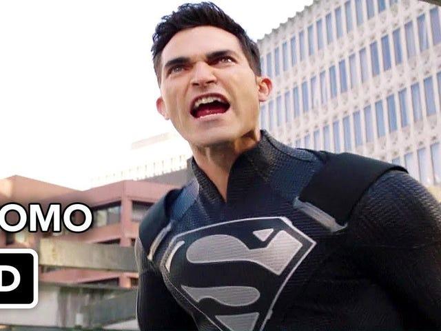 Elseworlds Del 3 (Supergirl) Reaktionsgänga