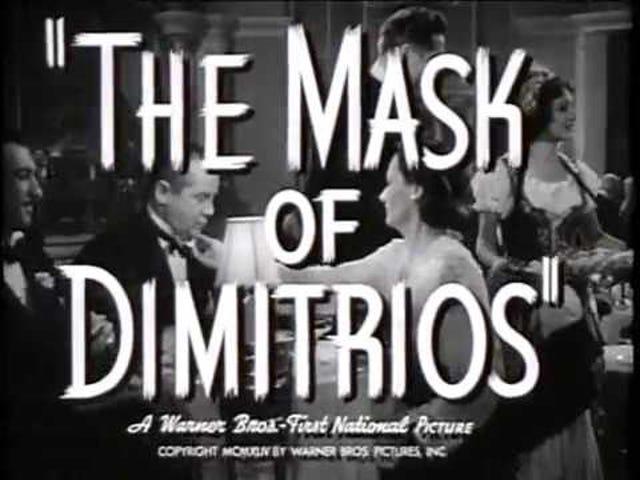 Dimitrios mask (1944)