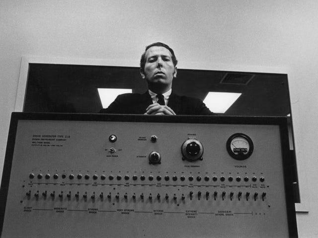 50 år siden, der blev udført af Milgrams eksperimenter: Somos kapaciteter af hende er solo for obedecer unrdenes