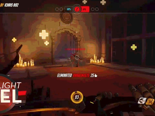 <i>Overwatch</i> Player a un excellent revers