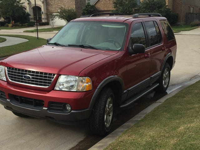 How can I tell if my 2003 Explorer is 4WD or RWD?