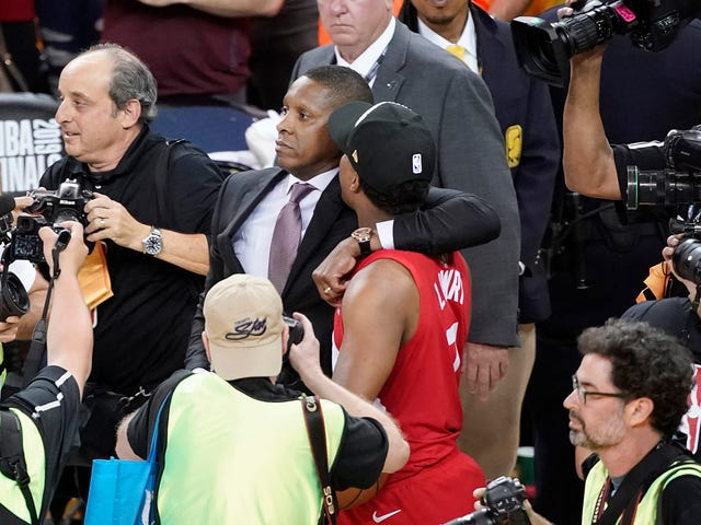 "Surprise, Surprise: Masai Ujiri Won't Be Charged For Allegedly ""Concussing"" Sheriff's Deputy After Winning NBA Finals"