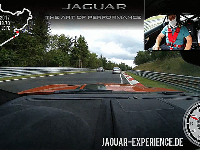 Narito ang Isang Jaguar F-Type SVR Making 43 Passes In One Lap Of The Nürburgring
