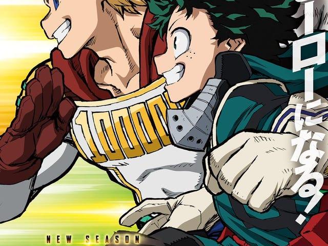 The Anime of My Hero Academia gets a new season!