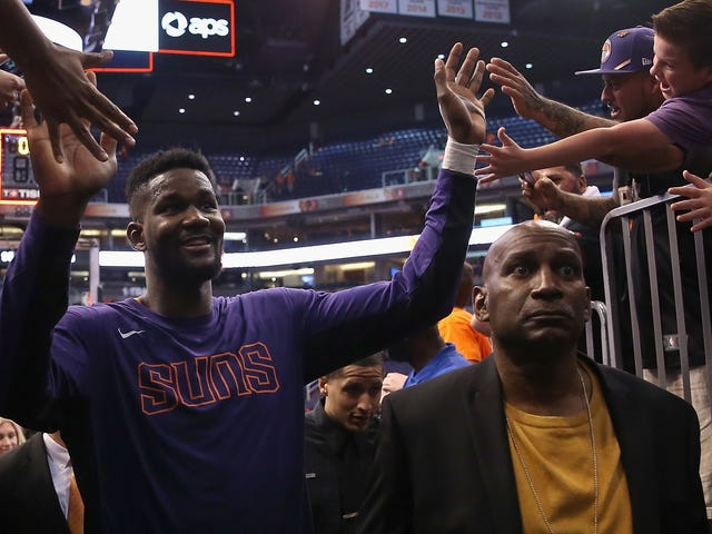 Deandre Ayton Suspended For 25 Games, How Are The Suns Always Like This