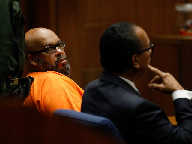 Suge Knight, the Red Menace, Hit With 28 Years in Prison
