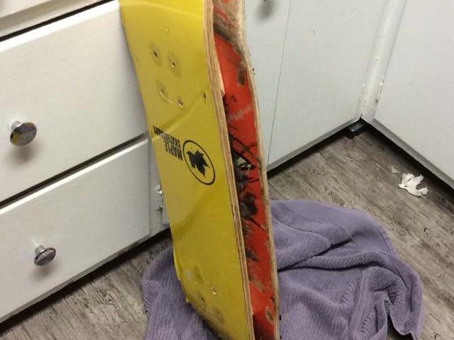 DIY Snowskate