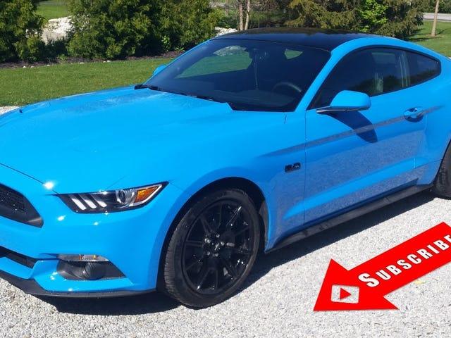 Olen nähnyt Grabber Blue GT Performance -paketin Cars & Coffee eilen, ja haluan sen.  Niin huono.