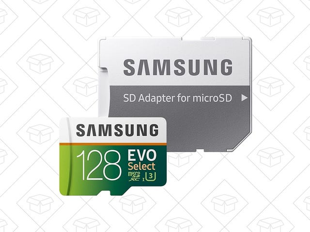 Upgrade Your Switch, Dash Cam, and More With a 128GB MicroSD Card, Just $40 Today