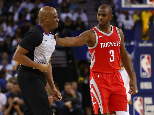 NBA Officiating Sucks, But Not For The Reason Chris Paul Thinks It Does