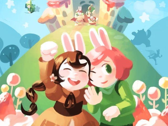 First Second Is Publishing the Hilarious and Stunning Webcomic Epic Cucumber Quest