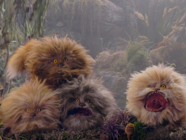 I Would Lay My Life on the Line for a Fizzgig from Dark Crystal: Age of Resistance