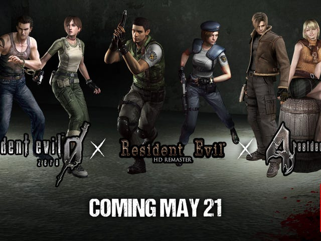 Resident Evil 1, 4, And 0Are Coming To Switch On May 21