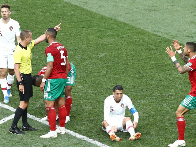World Cup Referee Swears He Didn't Ask Ronaldo For His Shirt