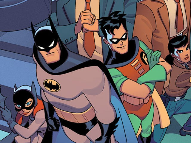 Batman: The Animated Series Is Finally Getting the Tabletop Board Game Gotham Deserves