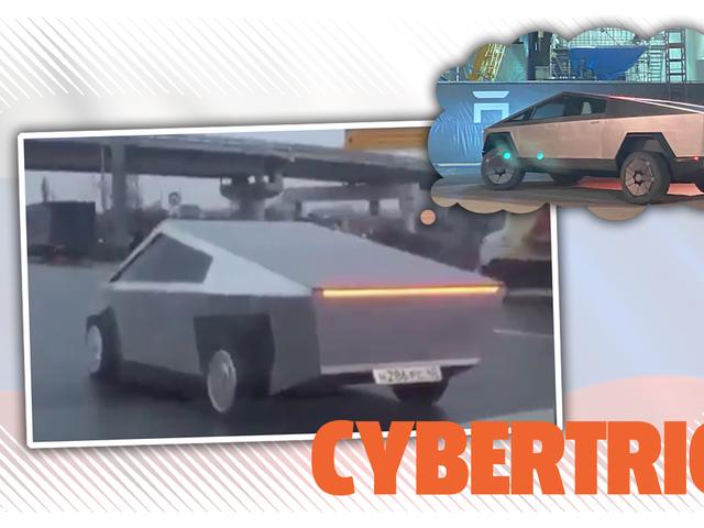 Alguien ya hizo su propio Cybertruck en Moscú