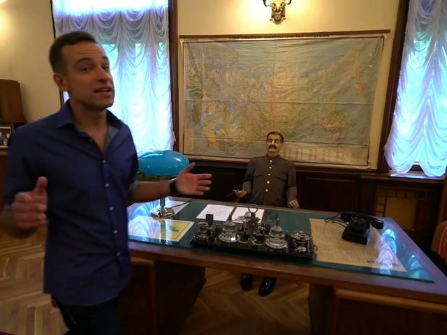 Weird FS1 Segment: Say What You Will About Joseph Stalin, But He Had A Sick House