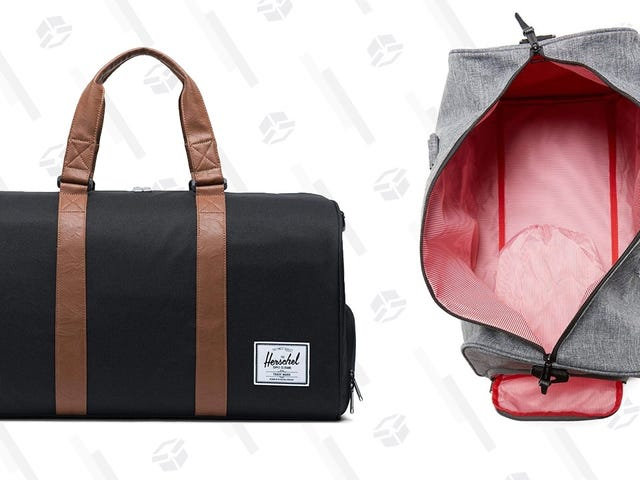 Ditch The Roller Bag For The Weekend And Grab a Herschel Duffel From $45