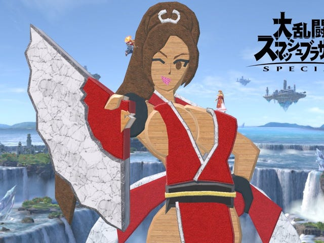 People Are Putting Mai Shiranui In Super Smash Bros. Ultimate