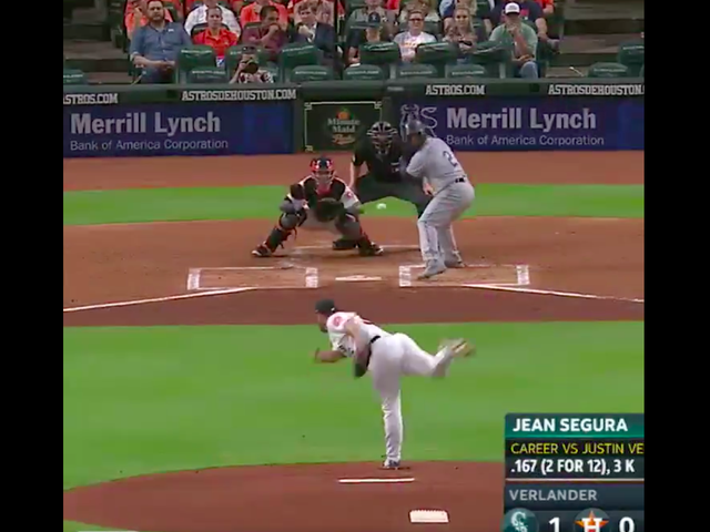 The Mariners' First Four Batters Hit For The Cycle Off Justin Verlander In The First Inning