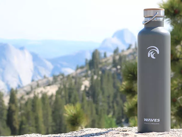 Save 50% On The Insulated Forever Cold Water Bottle From WavesGear (From $17)