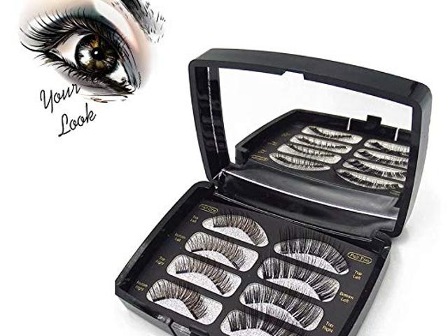 Magnetic Eyelashes(8pieces),LONG Natural FULL COVERAGE ENHANCED Lashes(30mm) $9.54