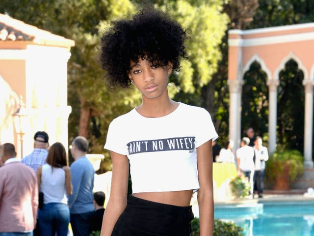 People Freak Out Over Nonexistent Topless Willow Smith Instagram Pic