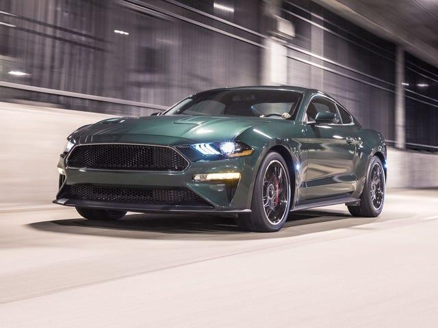 The 2019 Mustang Bullitt starts at $47,590