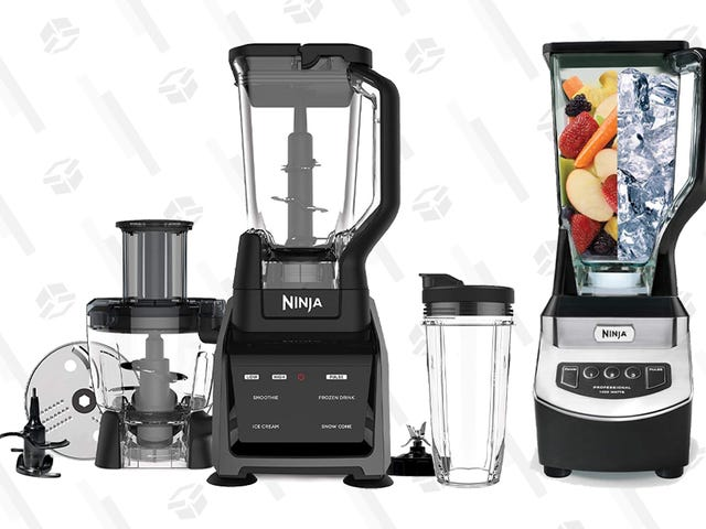Upgrade Your Kitchen's Blender With Today's Ninja Gold Box