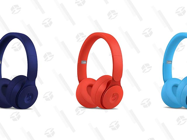 Drie levendige varianten van Beats Solo Pro-koptelefoons zijn momenteel slechts $ 200