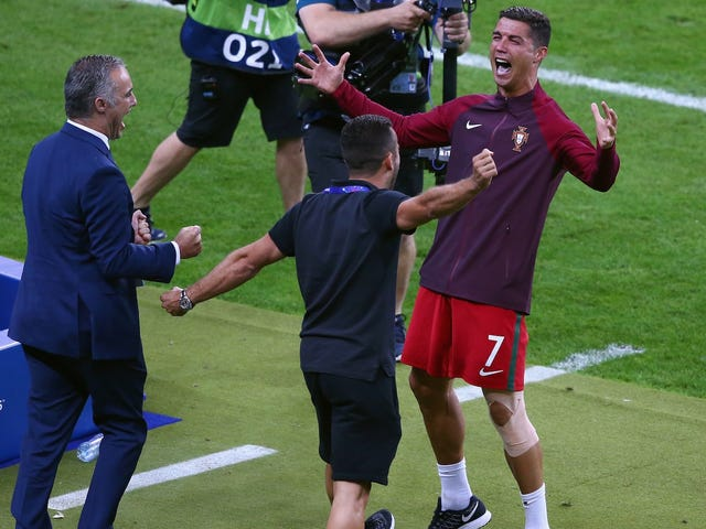 Cristiano Ronaldo Gave A Truly Moving Speech After Winning Euro 2016