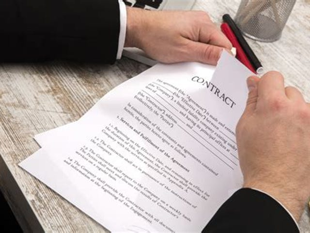 Question for the lawyers - What makes a signed contract un-enforceable?
