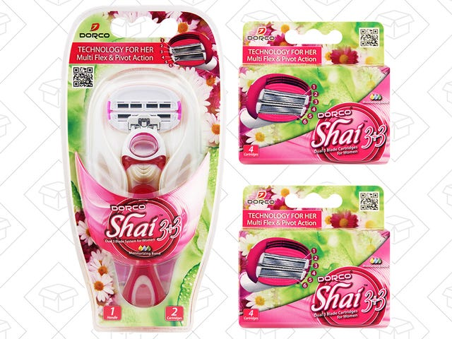 Try Out Dorco's Shai Razor, Plus 10 Cartridges, For Just $10