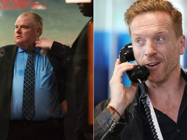 Damien Lewis? Is Playing?? Toronto Mayor Rob Ford???