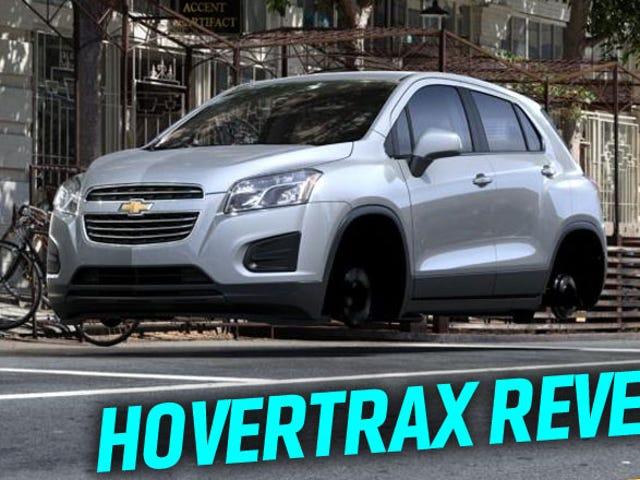 Mobil Terapung HoverTrax Rahasia Chevy Bocor Karena Kesalahan Situs Web