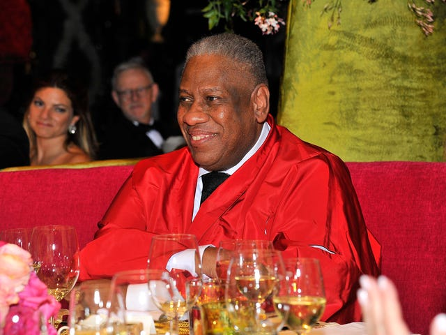 My Lunch With André Leon Talley