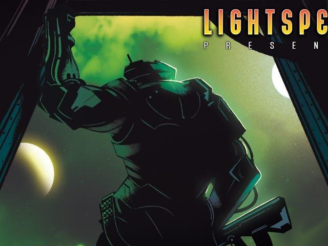 """LIGHTSPEED Apresenta: """"O Cyborg, o Tinman, o Mercador da Morte"""""""