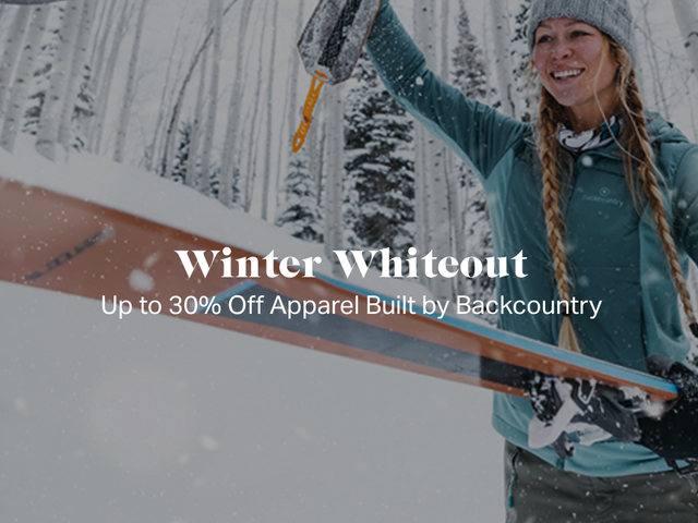 Save Up to 30% Off Gear and Apparel During Backcountry's Winter Whiteout Sale