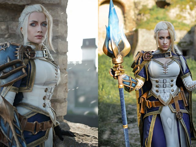 The Queen Of WarCraft Cosplay