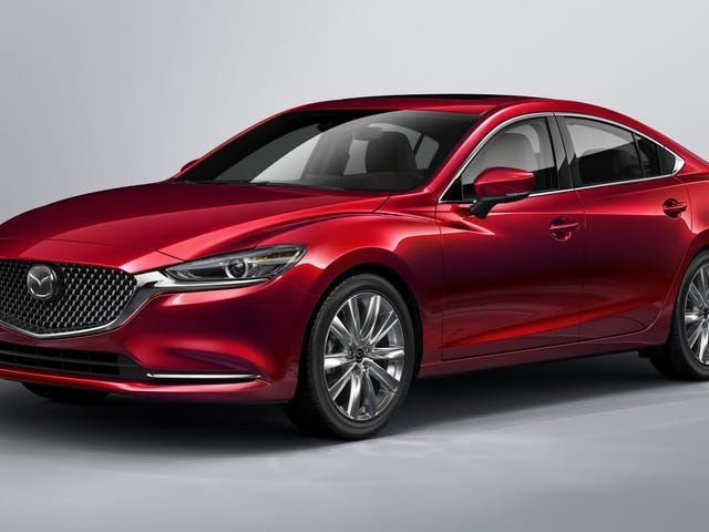 Behold The Turbocharged 2018 Mazda6 With A Much Nicer Interior And 310 LB-FT Of Torque