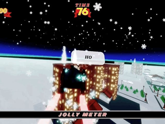 SantaCorps 2 Combines Christmas and F-Zero