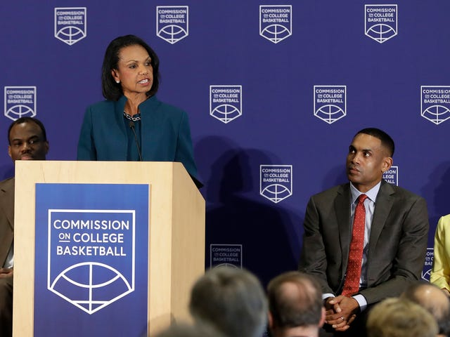 Condoleezza Rice's Useless Commission On College Basketball Gives Useless Recommendations