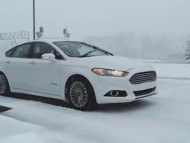 Ford Is Testing Its Autonomous Cars in the Snow (and That's Pretty Damn Tough)